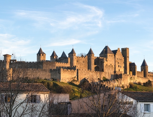 One day in the Castle of Carcassonne