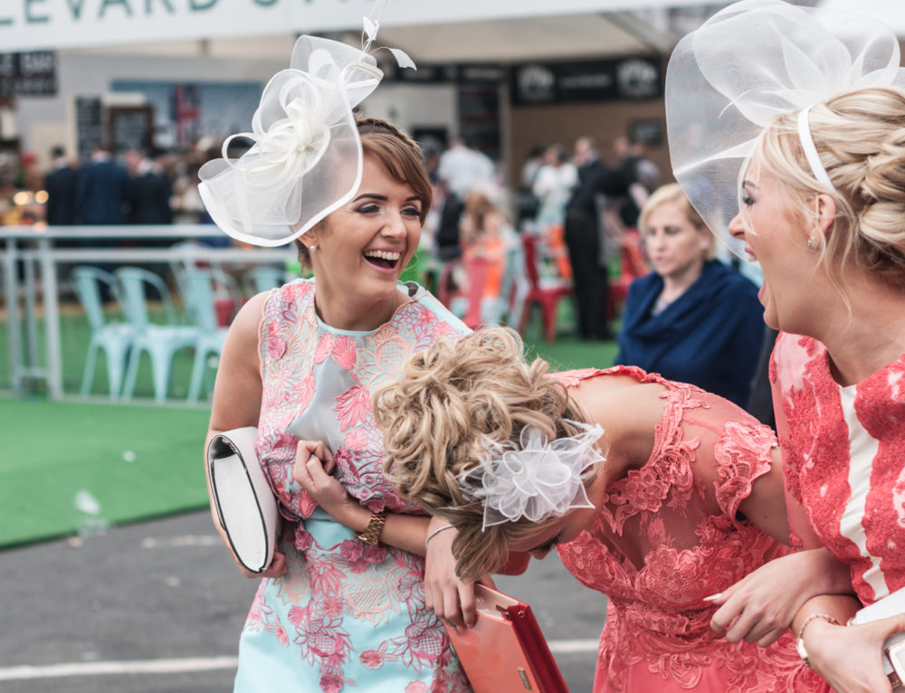 Reportage from Grand National: Ladies Day