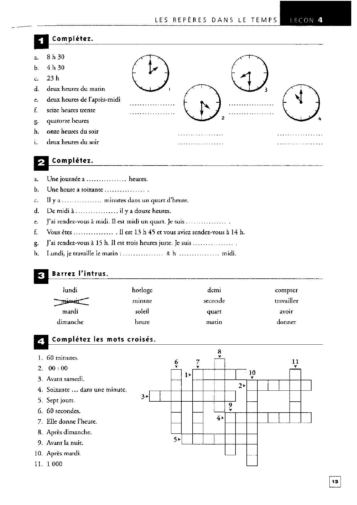 Exercices De Vocabulaire En Contexte Niveau D Page 002 Independent People